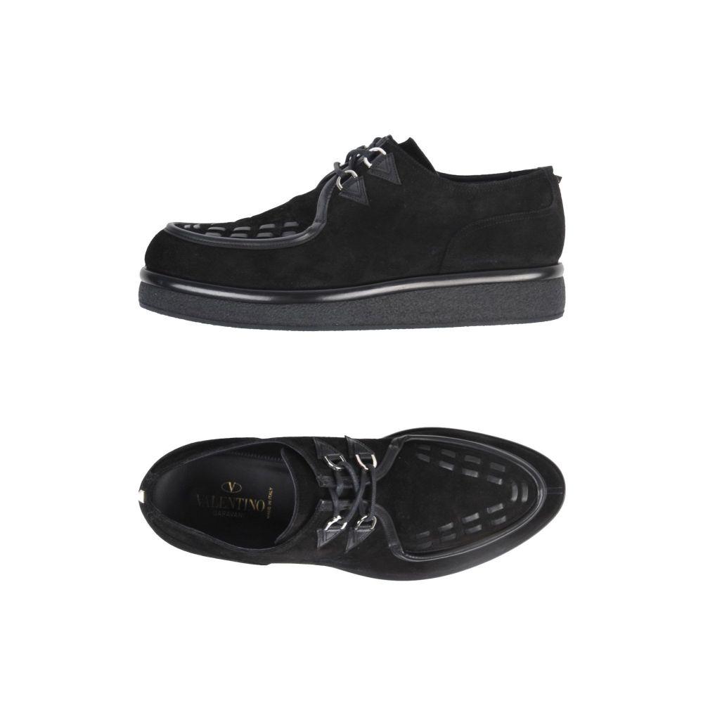 ヴァレンティノ VALENTINO GARAVANI メンズ シューズ・靴 【laced shoes】Black