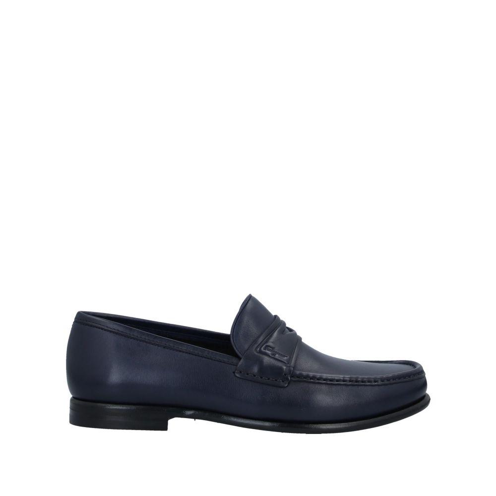 サルヴァトーレ フェラガモ SALVATORE FERRAGAMO メンズ ローファー シューズ・靴【loafers】Dark blue