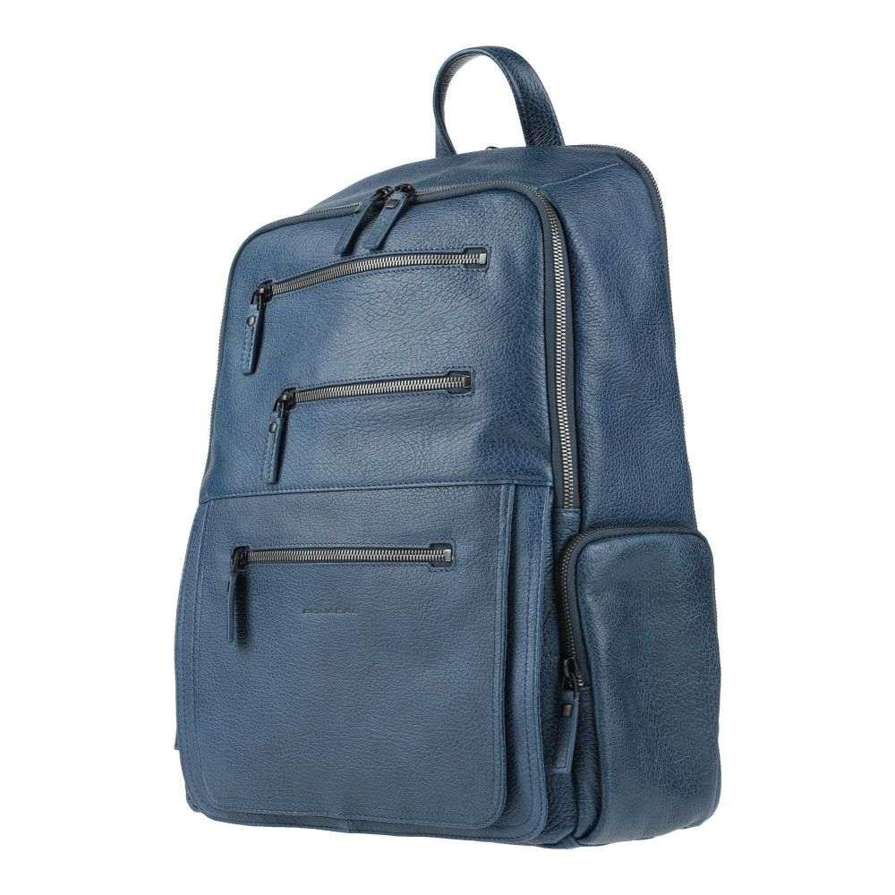 ピクアドロ PIQUADRO メンズ バッグ 【backpack & fanny pack】Blue