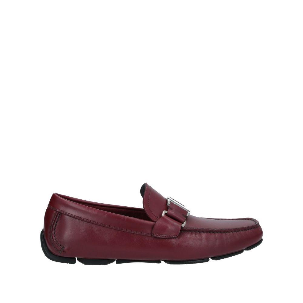 サルヴァトーレ フェラガモ SALVATORE FERRAGAMO メンズ ローファー シューズ・靴【loafers】Maroon