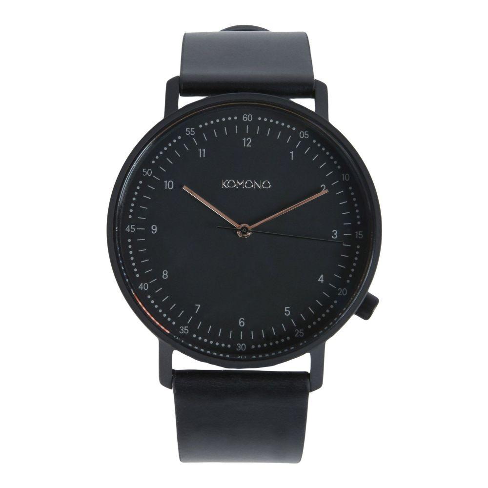 コモノ KOMONO メンズ 腕時計 【wrist watch】Black