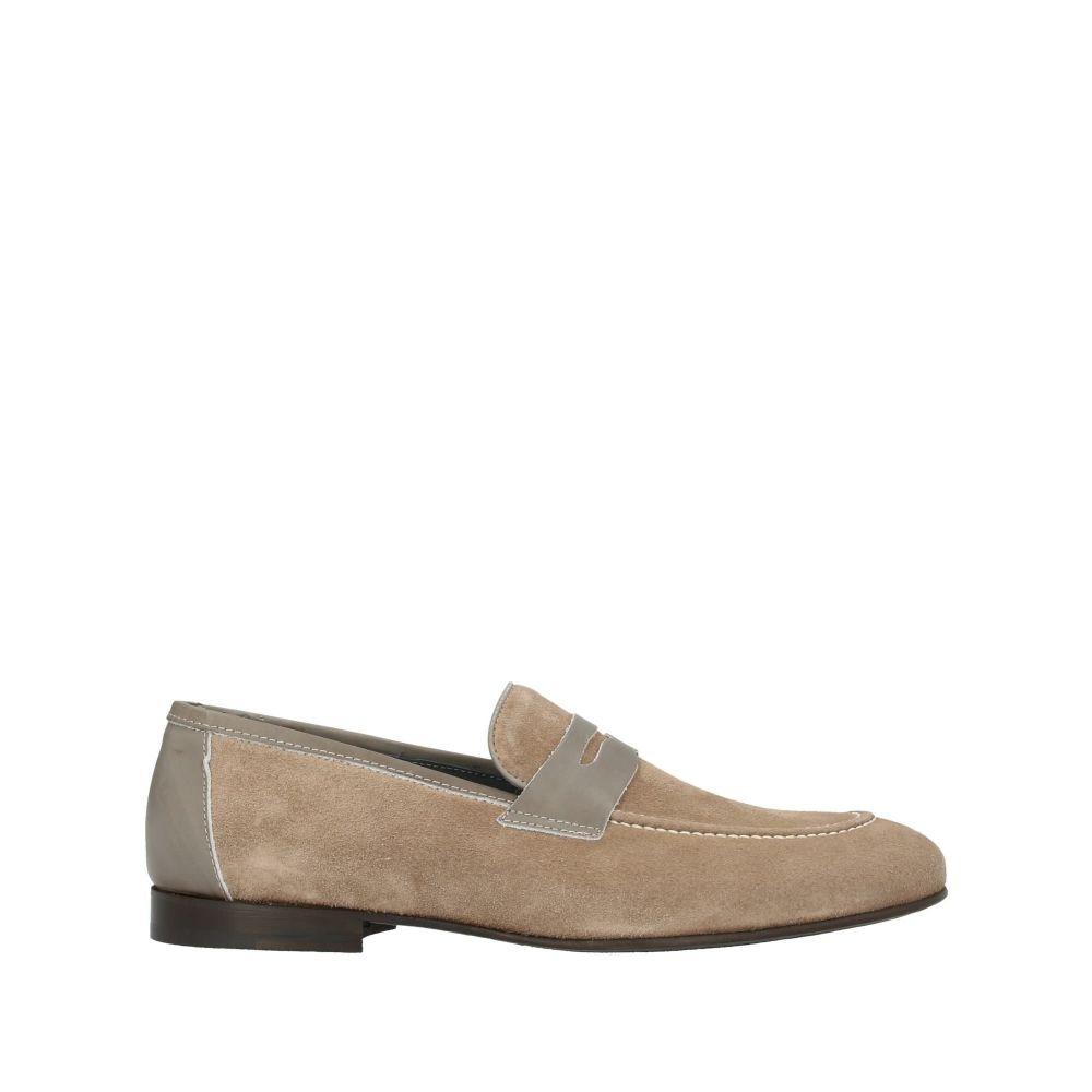 ポリーニ メンズ シューズ・靴 ローファー Beige 【サイズ交換無料】 ポリーニ POLLINI メンズ ローファー シューズ・靴【loafers】Beige