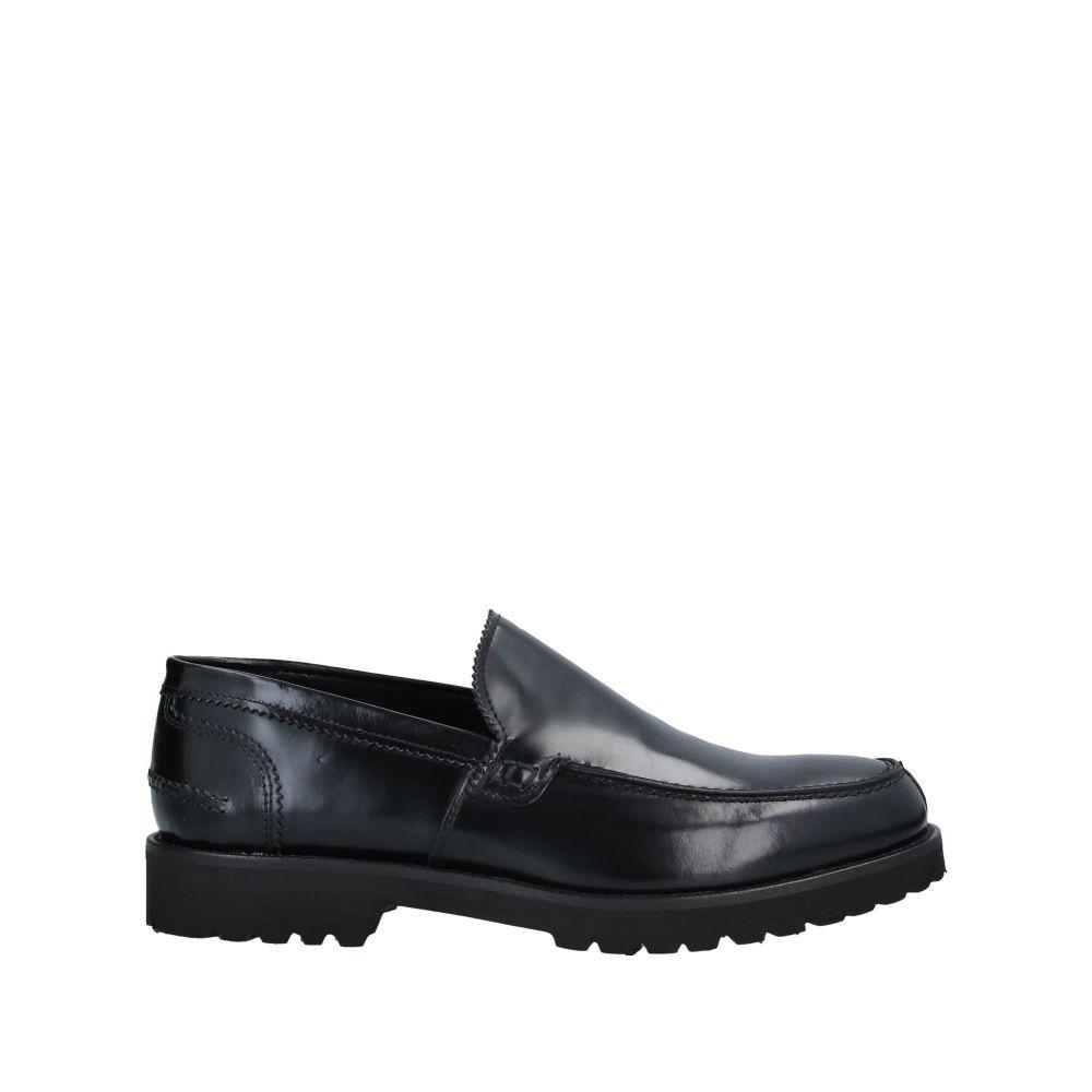 アンジェロ パロッタ メンズ シューズ・靴 ローファー Black 【サイズ交換無料】 アンジェロ パロッタ ANGELO PALLOTTA メンズ ローファー シューズ・靴【loafers】Black