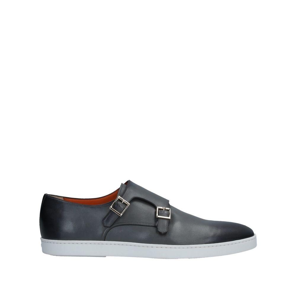 サントーニ SANTONI メンズ ローファー シューズ・靴【loafers】Dark blue