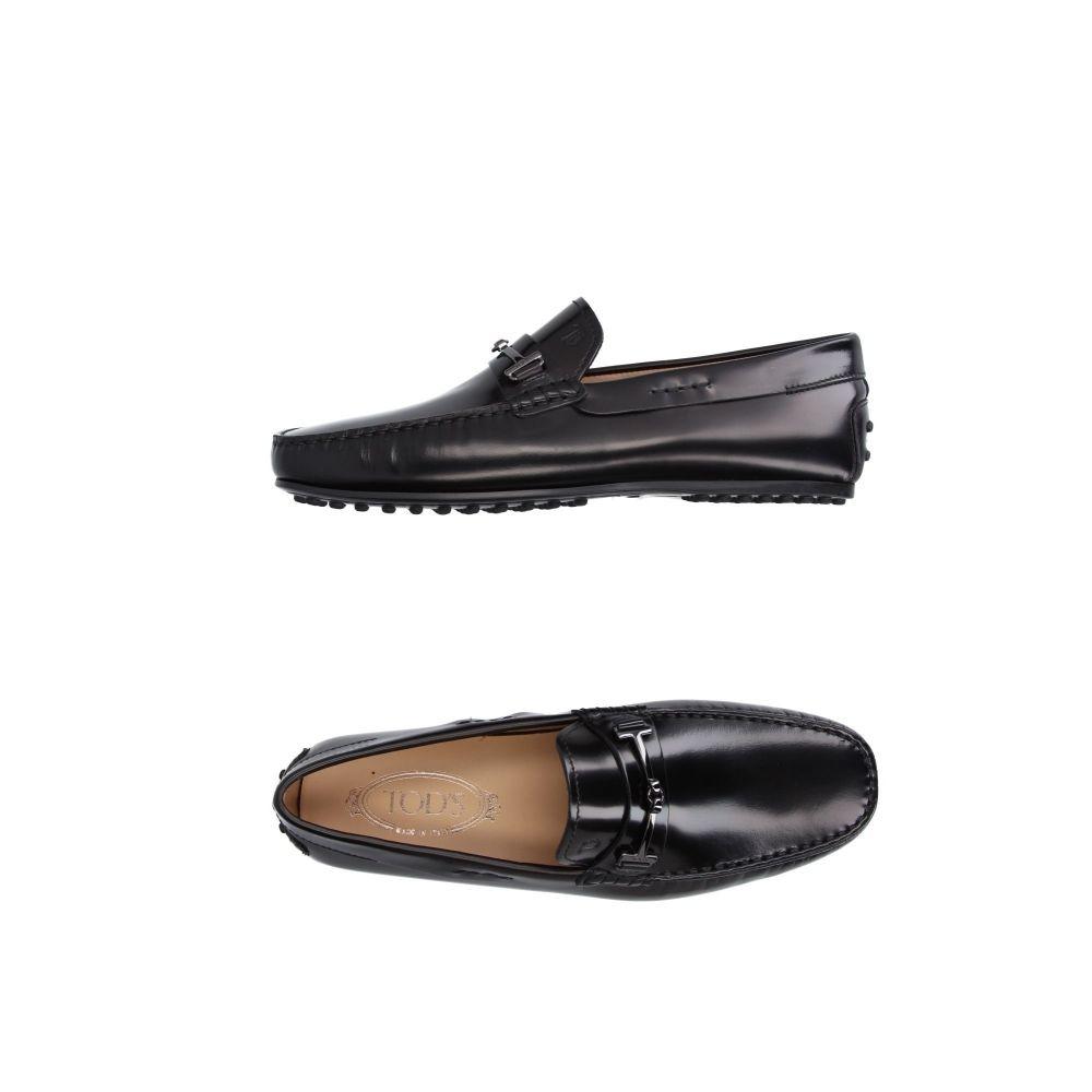 トッズ メンズ シューズ・靴 ローファー Black 【サイズ交換無料】 トッズ TOD'S メンズ ローファー シューズ・靴【loafers】Black