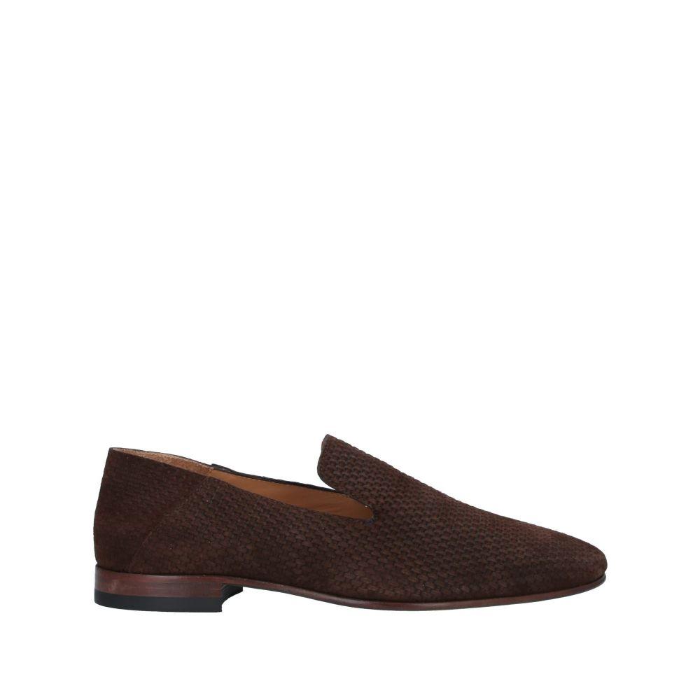 ボエモス メンズ シューズ・靴 ローファー Dark brown 【サイズ交換無料】 ボエモス BOEMOS メンズ ローファー シューズ・靴【loafers】Dark brown