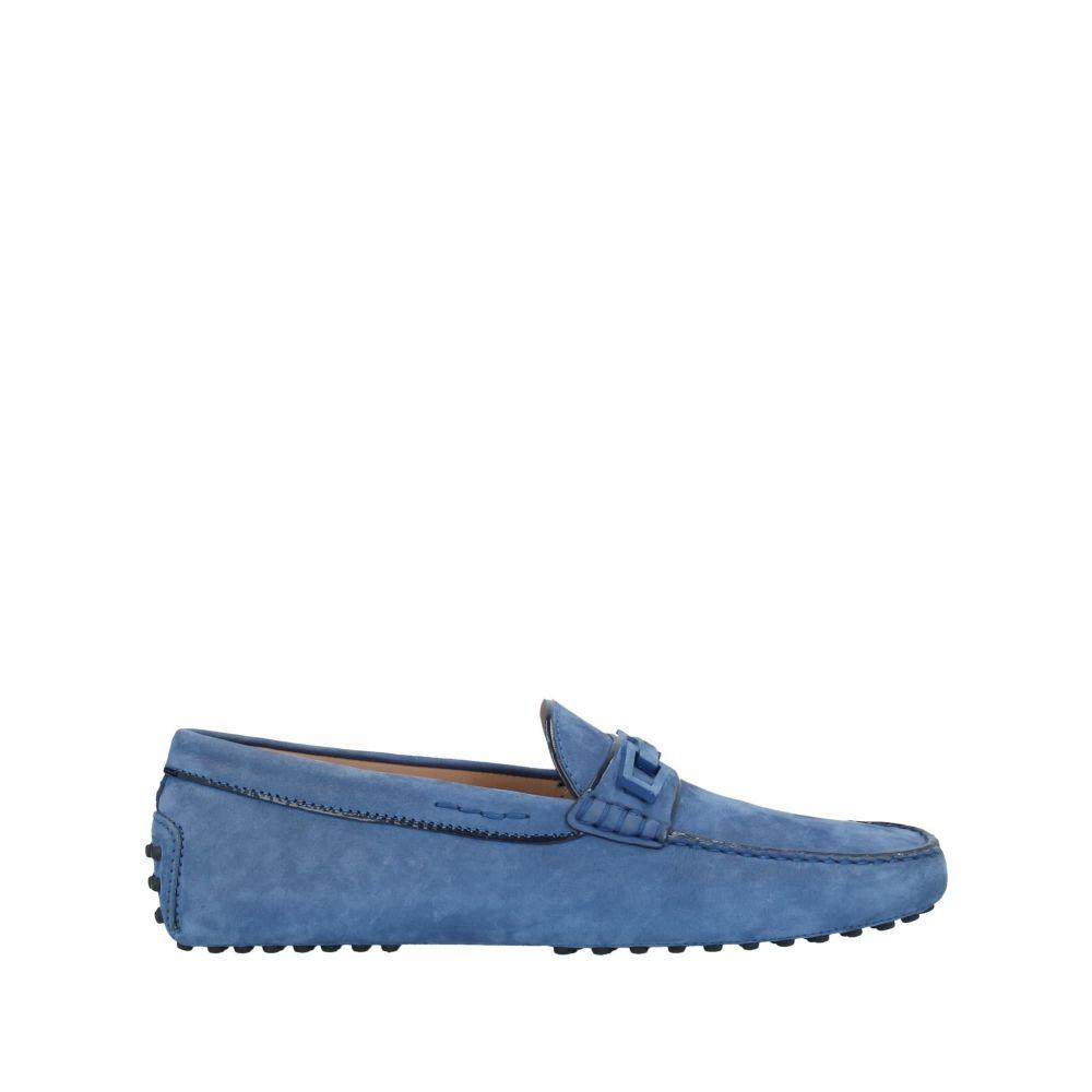 <title>トッズ メンズ 買取 シューズ 靴 ローファー Dark blue サイズ交換無料 TOD'S loafers</title>