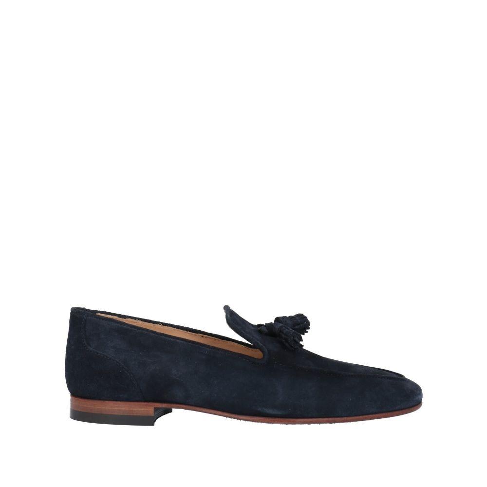 ボエモス メンズ シューズ・靴 ローファー Dark blue 【サイズ交換無料】 ボエモス BOEMOS メンズ ローファー シューズ・靴【loafers】Dark blue