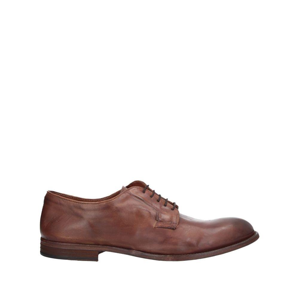 パウエルクス PAWELK'S メンズ シューズ・靴 【laced shoes】Brown