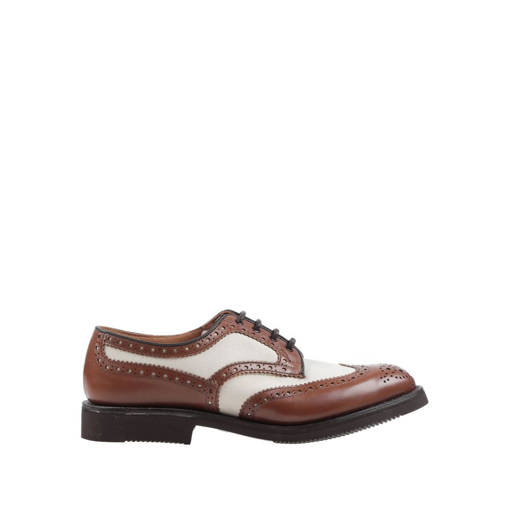 トリッカーズ TRICKER'S メンズ シューズ・靴 【laced shoes】Brown