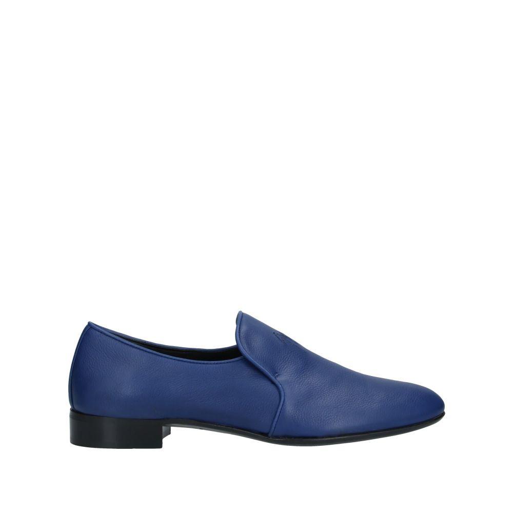 ジュゼッペ ザノッティ メンズ シューズ・靴 ローファー Blue 【サイズ交換無料】 ジュゼッペ ザノッティ GIUSEPPE ZANOTTI メンズ ローファー シューズ・靴【loafers】Blue