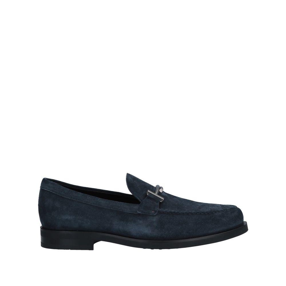 トッズ TOD'S メンズ ローファー シューズ・靴【loafers】Blue