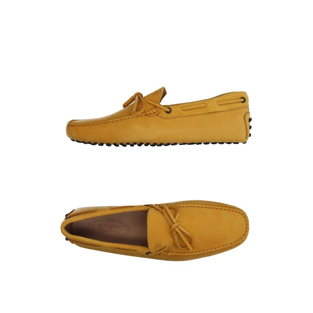 トッズ メンズ シューズ・靴 ローファー Beige 【サイズ交換無料】 トッズ TOD'S メンズ ローファー シューズ・靴【loafers】Beige