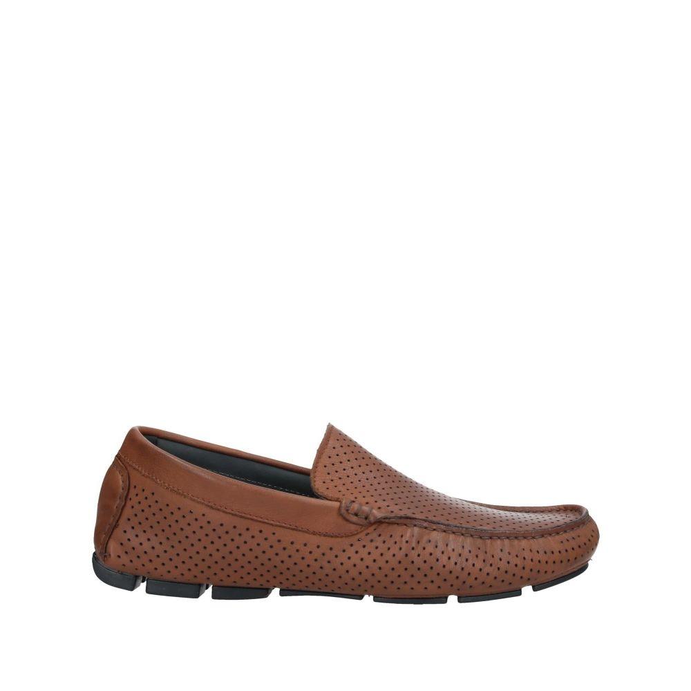 ポリーニ メンズ シューズ・靴 ローファー Brown 【サイズ交換無料】 ポリーニ POLLINI メンズ ローファー シューズ・靴【loafers】Brown