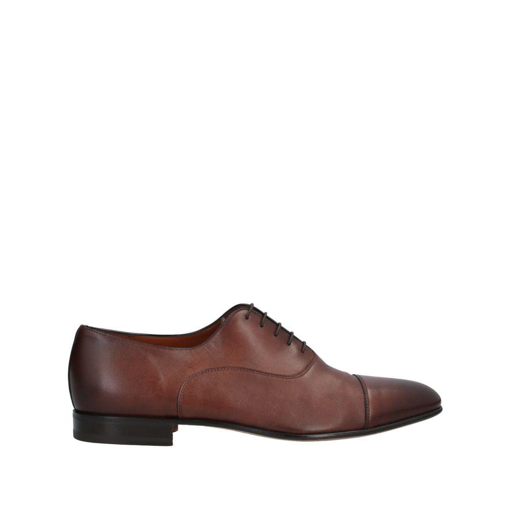サントーニ SANTONI メンズ シューズ・靴 【laced shoes】Cocoa