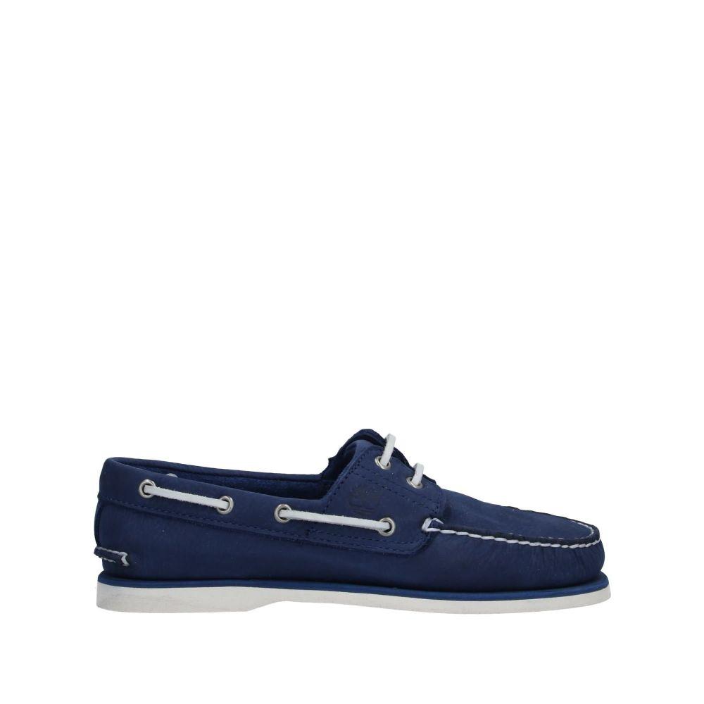 ティンバーランド メンズ シューズ・靴 ローファー Blue 【サイズ交換無料】 ティンバーランド TIMBERLAND メンズ ローファー シューズ・靴【loafers】Blue