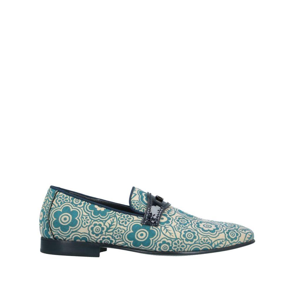 ジョバンニ コンティ GIOVANNI CONTI メンズ ローファー シューズ・靴【loafers】Turquoise