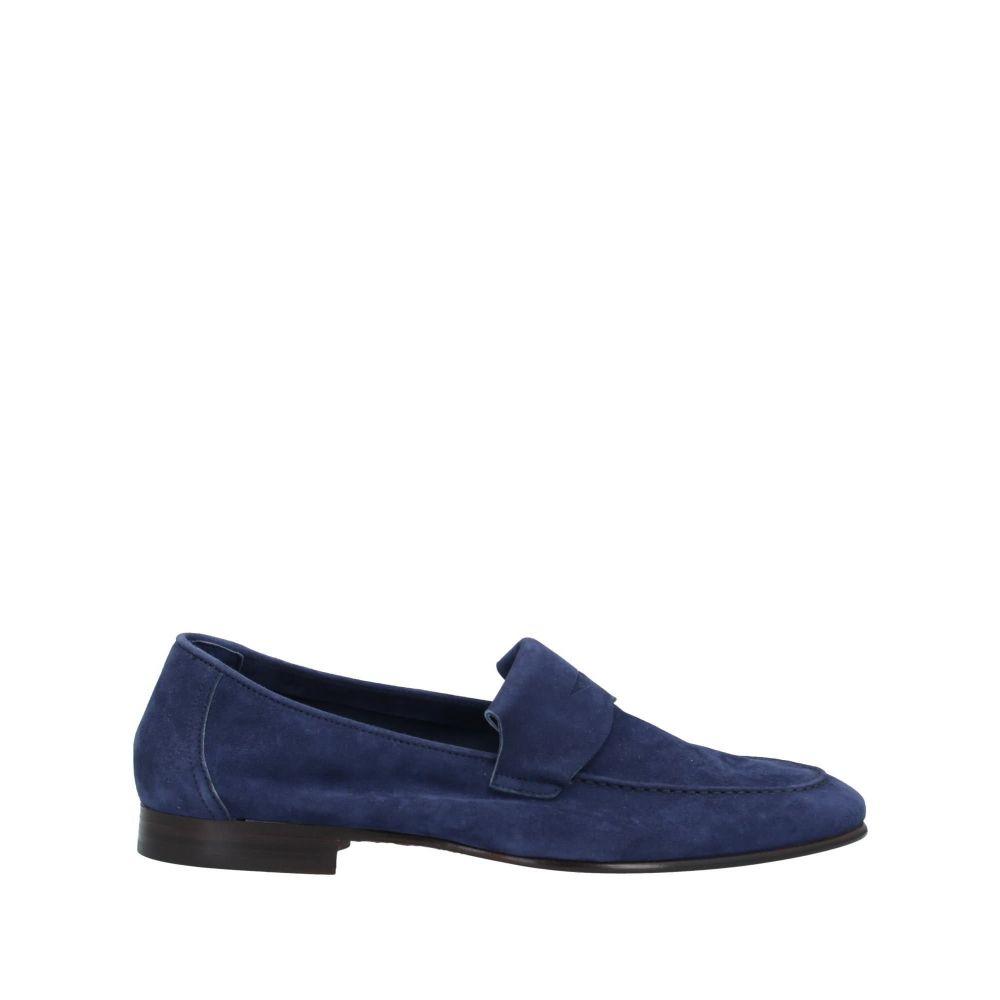 アンドレア ヴェントゥーラ メンズ シューズ・靴 ローファー Dark blue 【サイズ交換無料】 アンドレア ヴェントゥーラ ANDREA VENTURA FIRENZE メンズ ローファー シューズ・靴【loafers】Dark blue