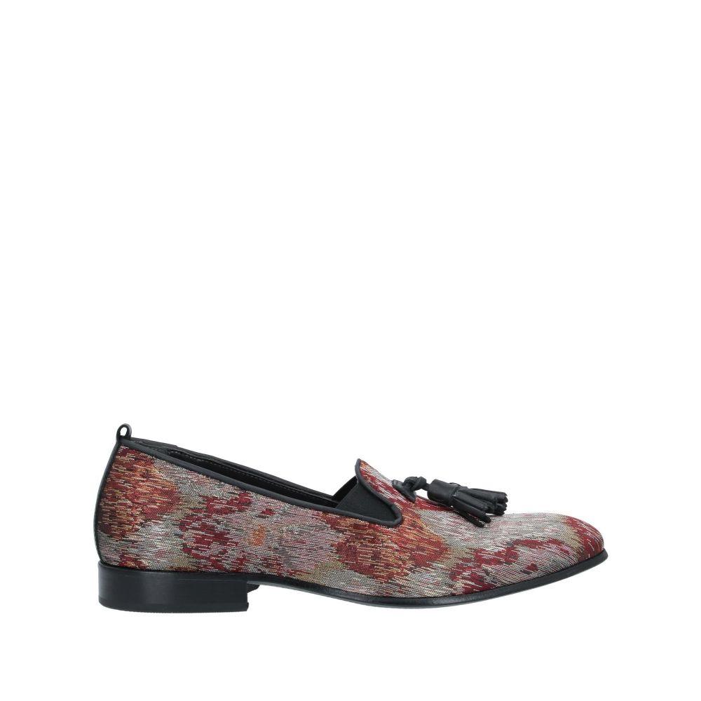 ジョバンニ コンティ メンズ シューズ・靴 ローファー Red 【サイズ交換無料】 ジョバンニ コンティ GIOVANNI CONTI メンズ ローファー シューズ・靴【loafers】Red