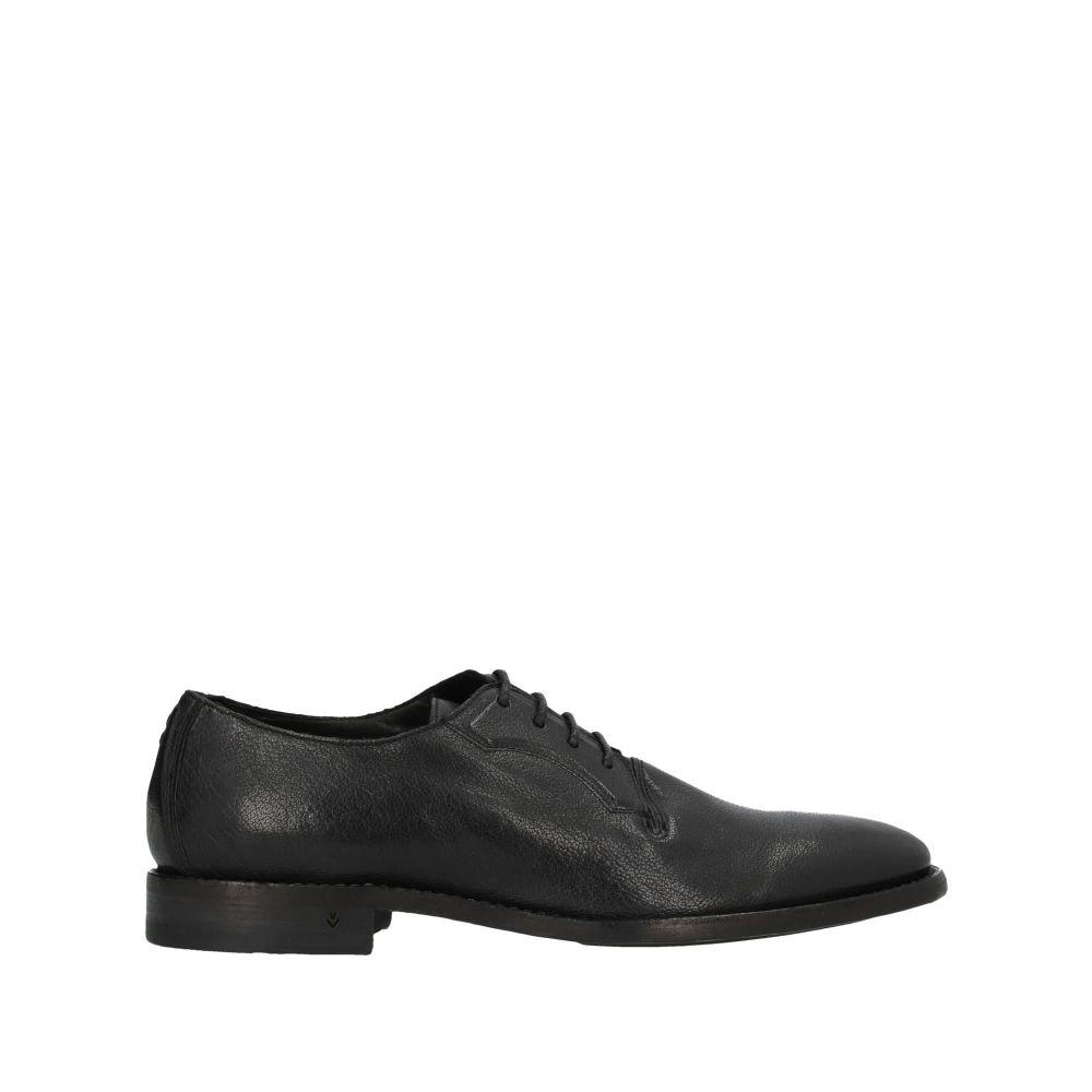 ジョン バルベイトス JOHN VARVATOS メンズ シューズ・靴 【laced shoes】Black