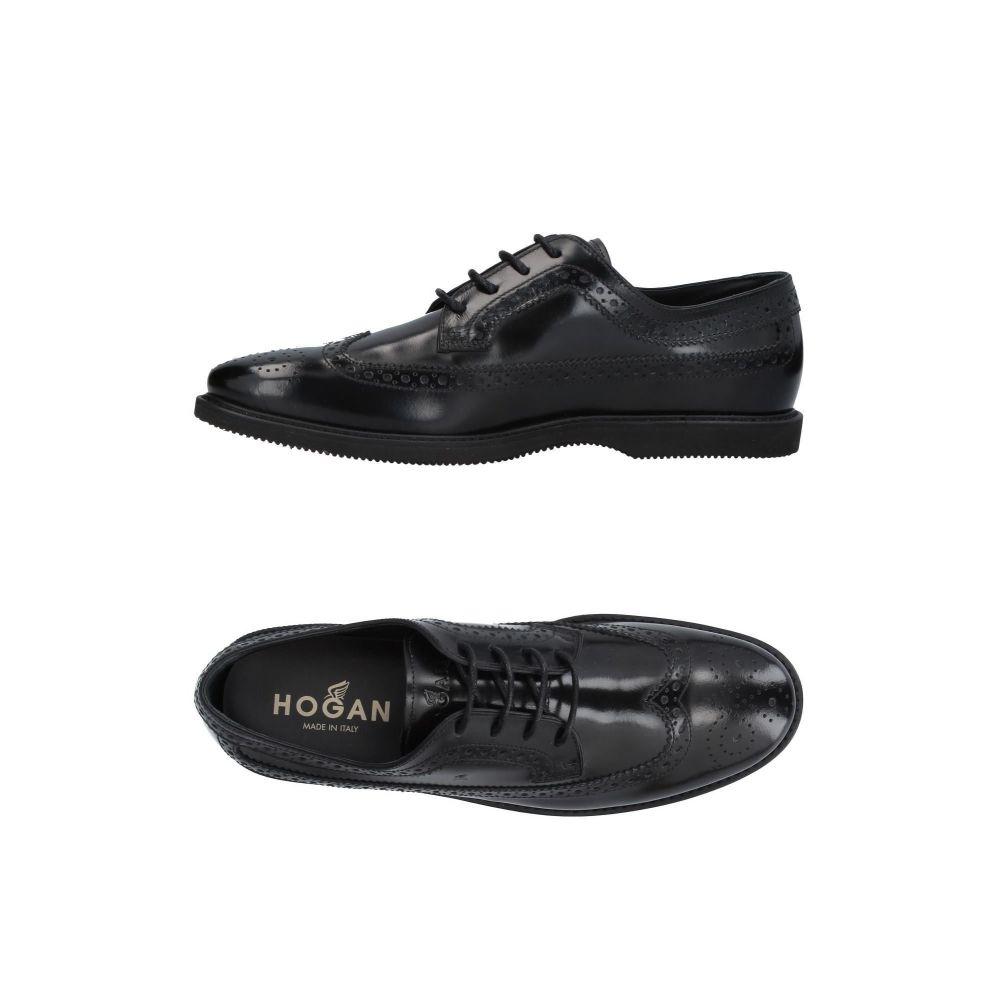 ホーガン HOGAN メンズ シューズ・靴 【laced shoes】Black