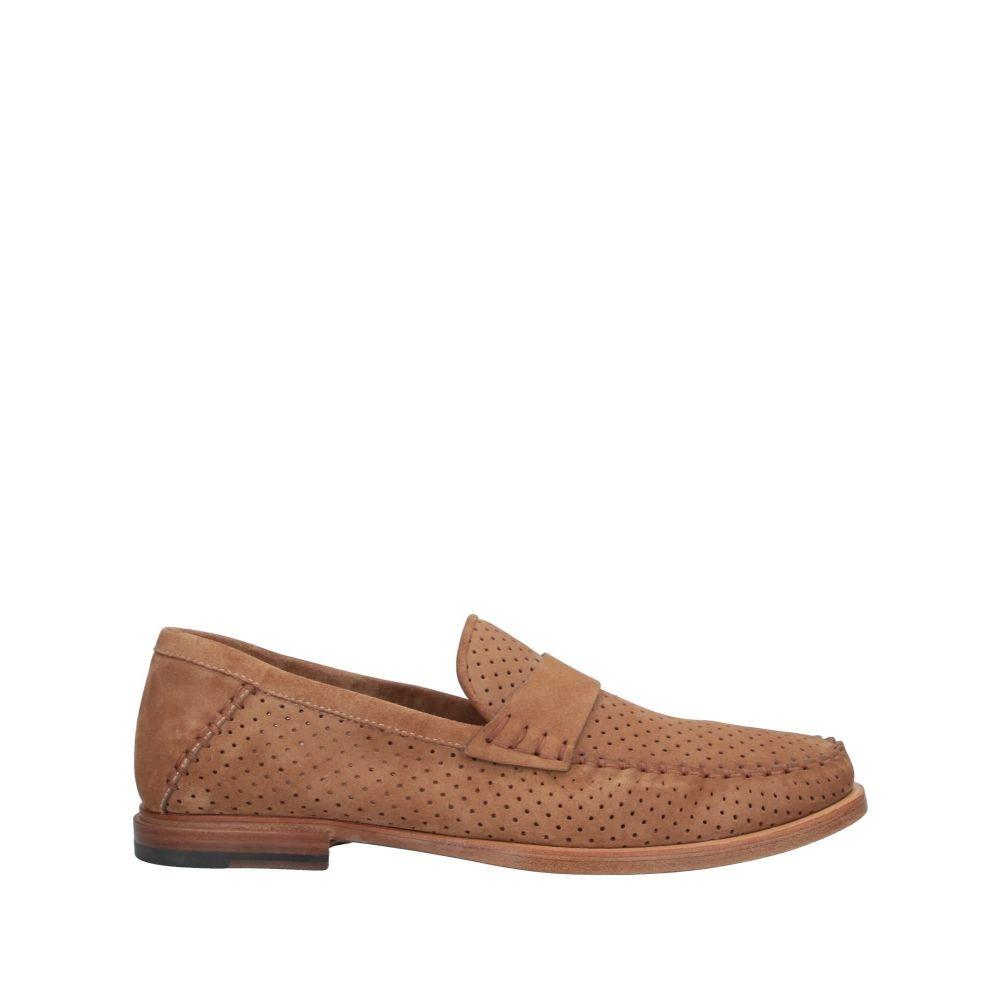サントーニ SANTONI メンズ ローファー シューズ・靴【loafers】Sand