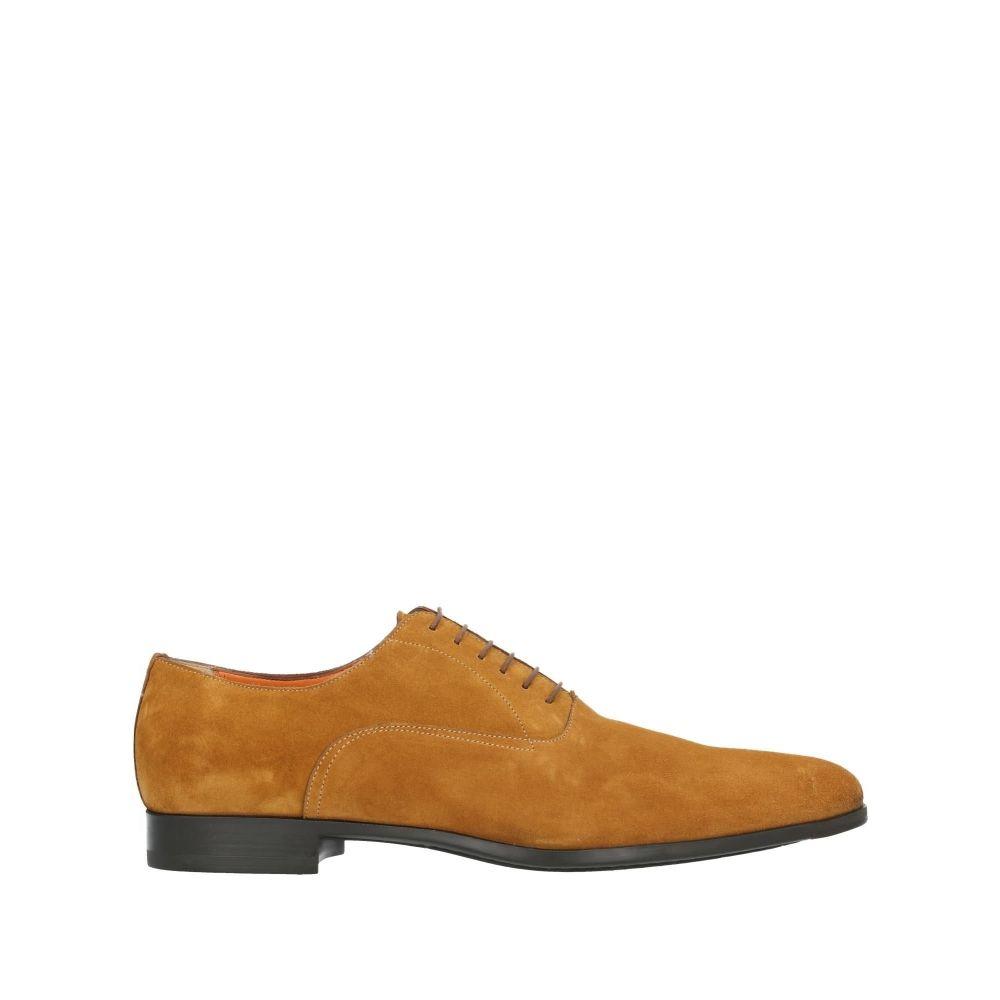 サントーニ メンズ シューズ 完売 永遠の定番モデル 靴 その他シューズ SANTONI shoes Brown サイズ交換無料 laced
