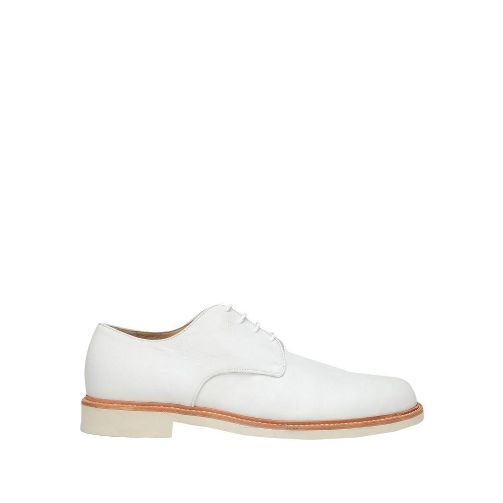 ロリブルー LORIBLU メンズ シューズ・靴 【laced shoes】White