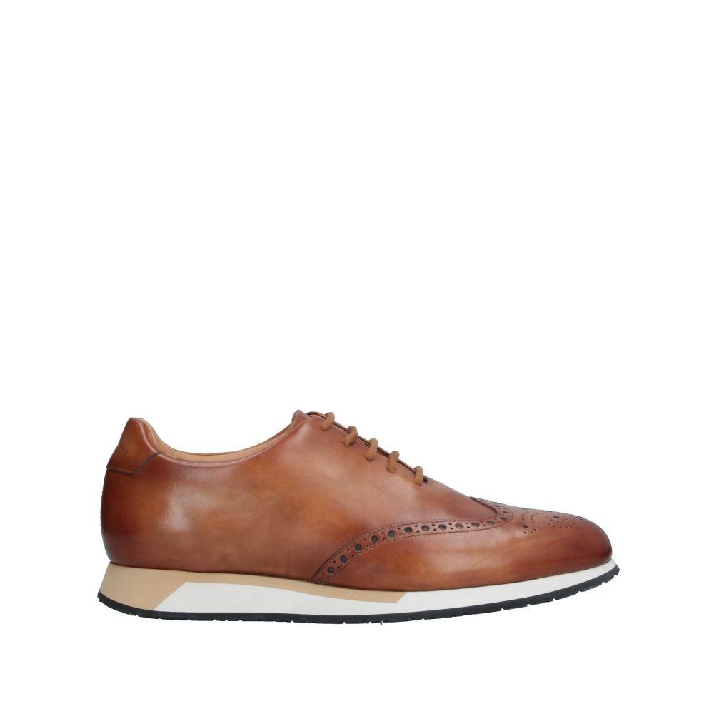 サントーニ メンズ おすすめ シューズ 靴 その他シューズ サイズ交換無料 laced SANTONI Tan 直営店 shoes