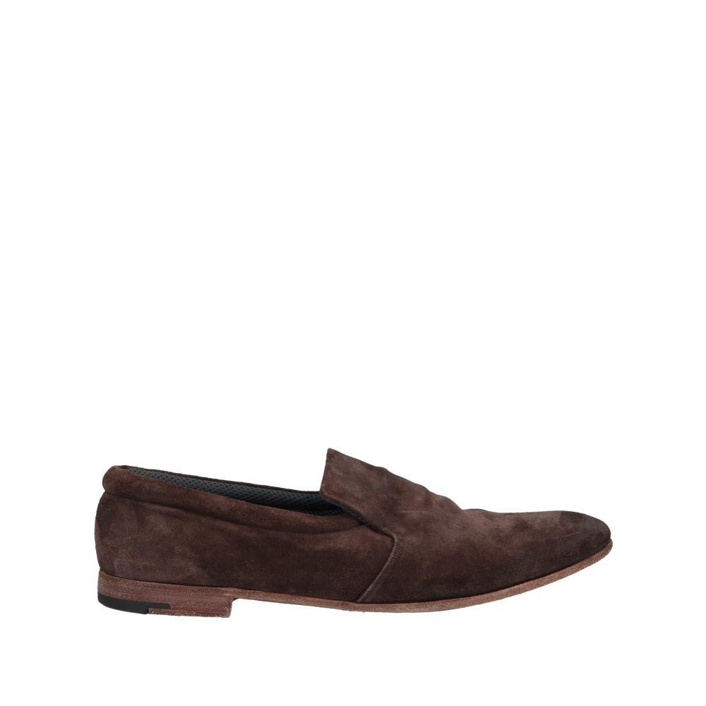 プレミアータ メンズ シューズ・靴 ローファー Dark brown 【サイズ交換無料】 プレミアータ PREMIATA メンズ ローファー シューズ・靴【loafers】Dark brown