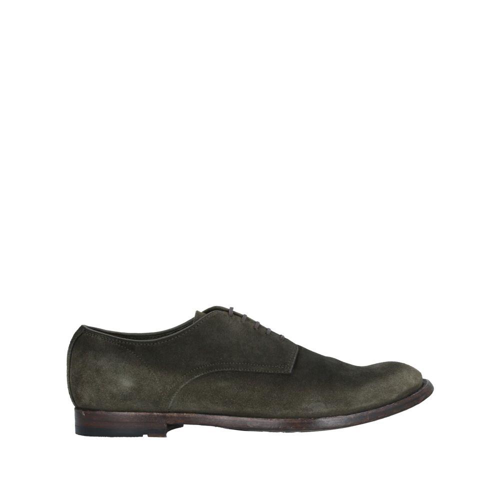 オフィチーネ クリエイティブ OFFICINE CREATIVE ITALIA メンズ シューズ・靴 【laced shoes】Military green