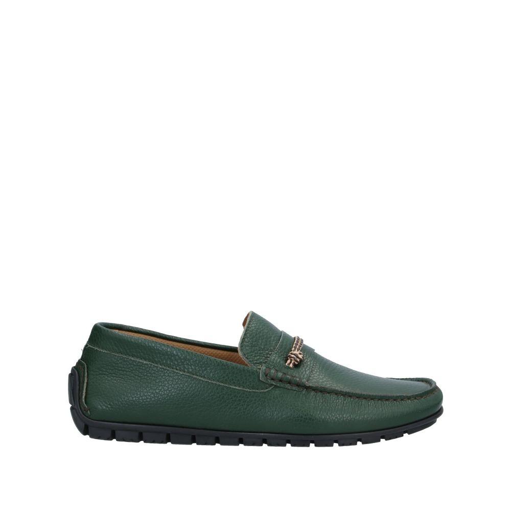 ジャンフランコ ラッタンツィ メンズ シューズ・靴 ローファー Dark green 【サイズ交換無料】 ジャンフランコ ラッタンツィ GIANFRANCO LATTANZI メンズ ローファー シューズ・靴【loafers】Dark green