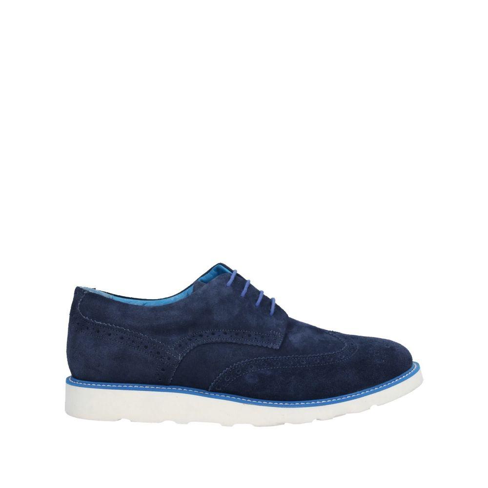 ウィラ THE WILLA メンズ シューズ・靴 【laced shoes】Blue