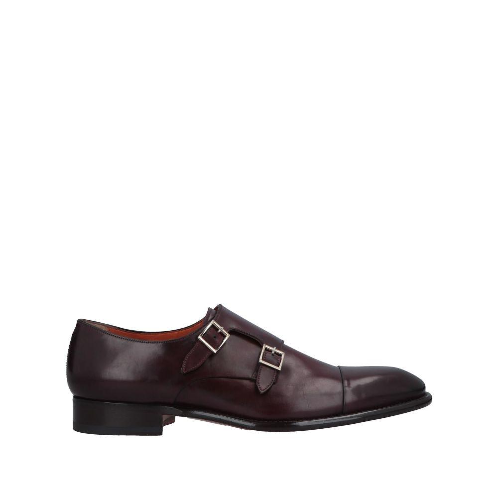 サントーニ メンズ シューズ・靴 ローファー Maroon 【サイズ交換無料】 サントーニ SANTONI メンズ ローファー シューズ・靴【loafers】Maroon