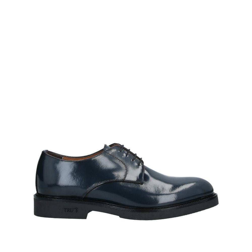 トラサルディ TRU TRUSSARDI メンズ シューズ・靴 【laced shoes】Dark blue