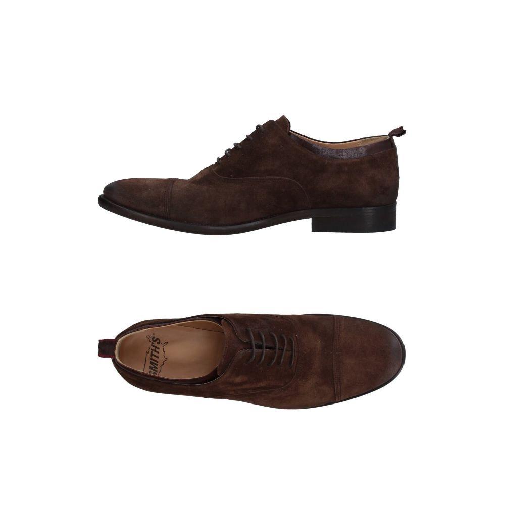 スミス アメリカン SMITH'S AMERICAN メンズ シューズ・靴 【laced shoes】Dark brown