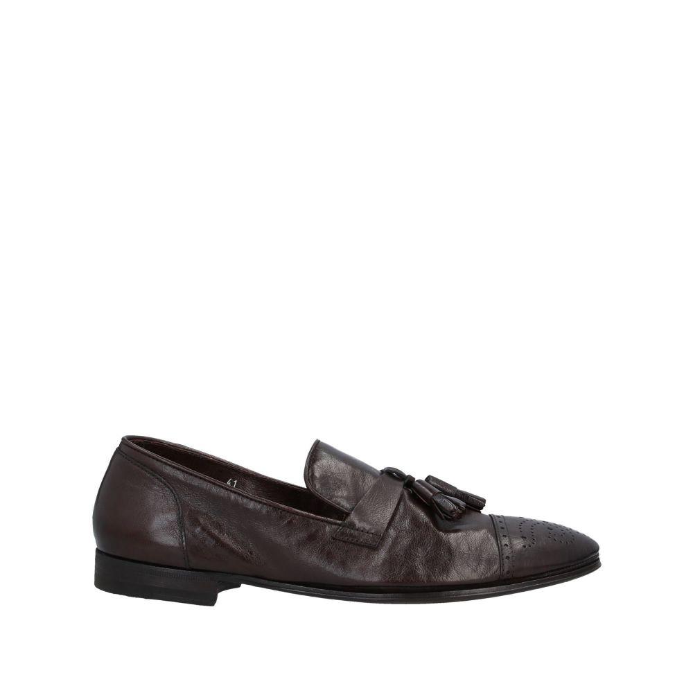 ヘンダーソン メンズ シューズ・靴 ローファー Black 【サイズ交換無料】 ヘンダーソン HENDERSON メンズ ローファー シューズ・靴【loafers】Black