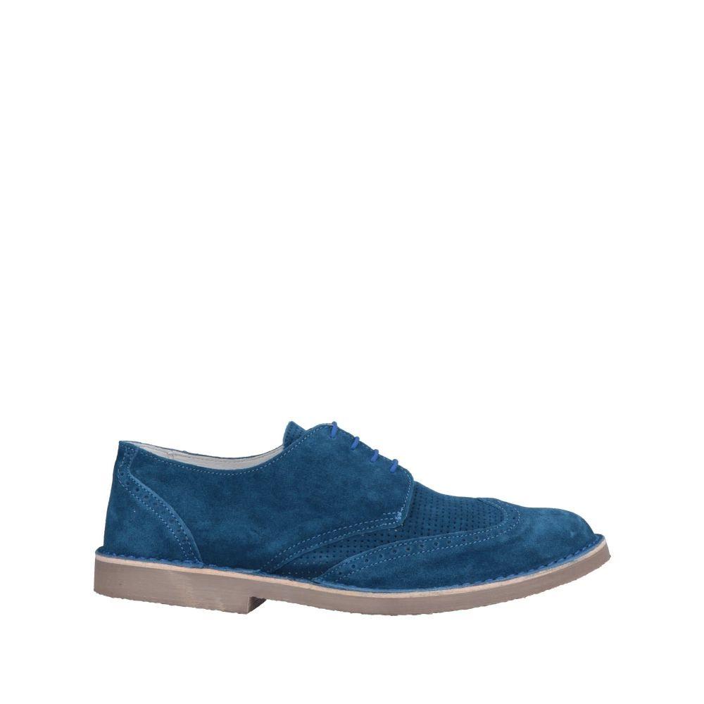 アンジェロ ナルデッリ ANGELO NARDELLI メンズ シューズ・靴 【laced shoes】Green