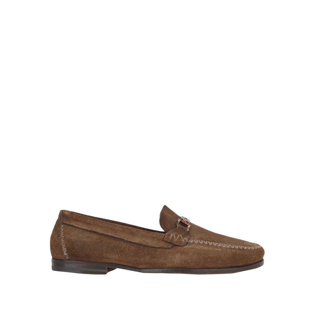 サントーニ メンズ シューズ・靴 ローファー Brown 【サイズ交換無料】 サントーニ SANTONI メンズ ローファー シューズ・靴【loafers】Brown