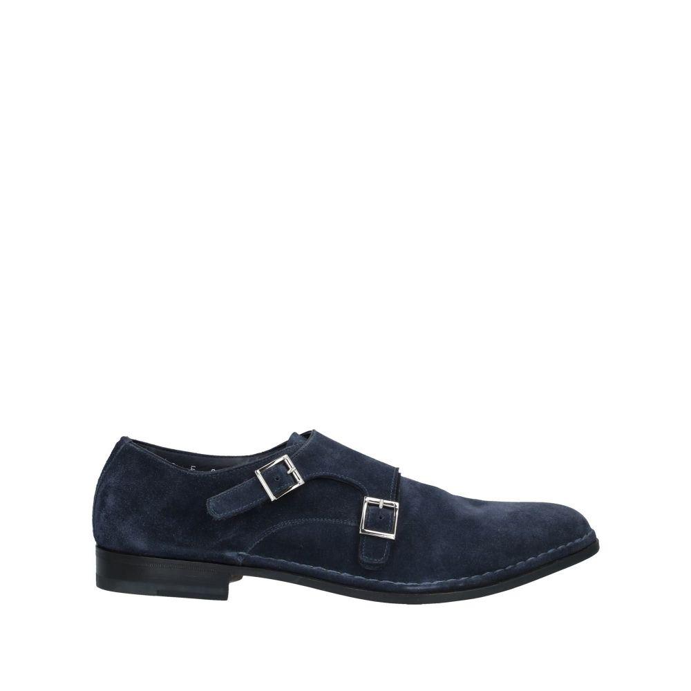 サントーニ メンズ シューズ・靴 ローファー Dark blue 【サイズ交換無料】 サントーニ SANTONI メンズ ローファー シューズ・靴【loafers】Dark blue
