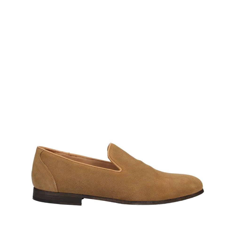ウィラ メンズ シューズ・靴 ローファー Camel 【サイズ交換無料】 ウィラ THE WILLA メンズ ローファー シューズ・靴【loafers】Camel