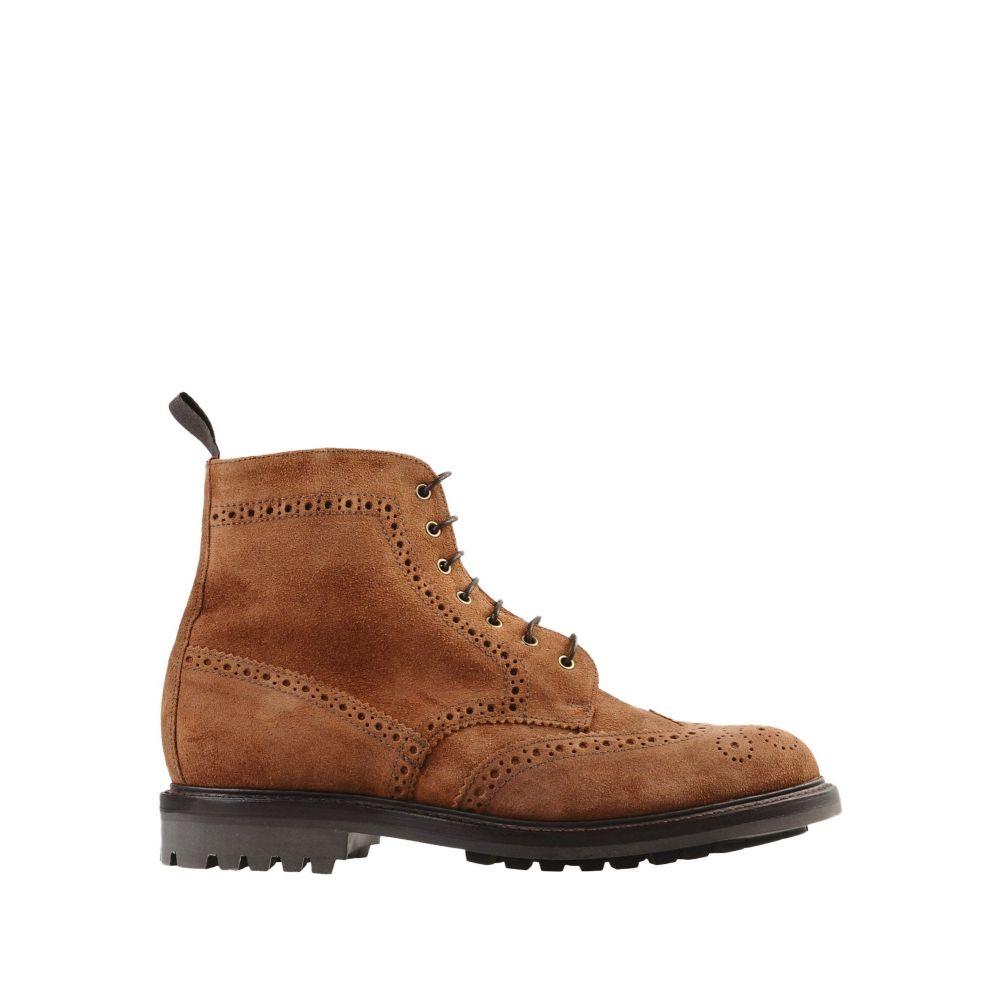 サンダース SANDERS メンズ ブーツ シューズ・靴【cheltenham boots】Brown