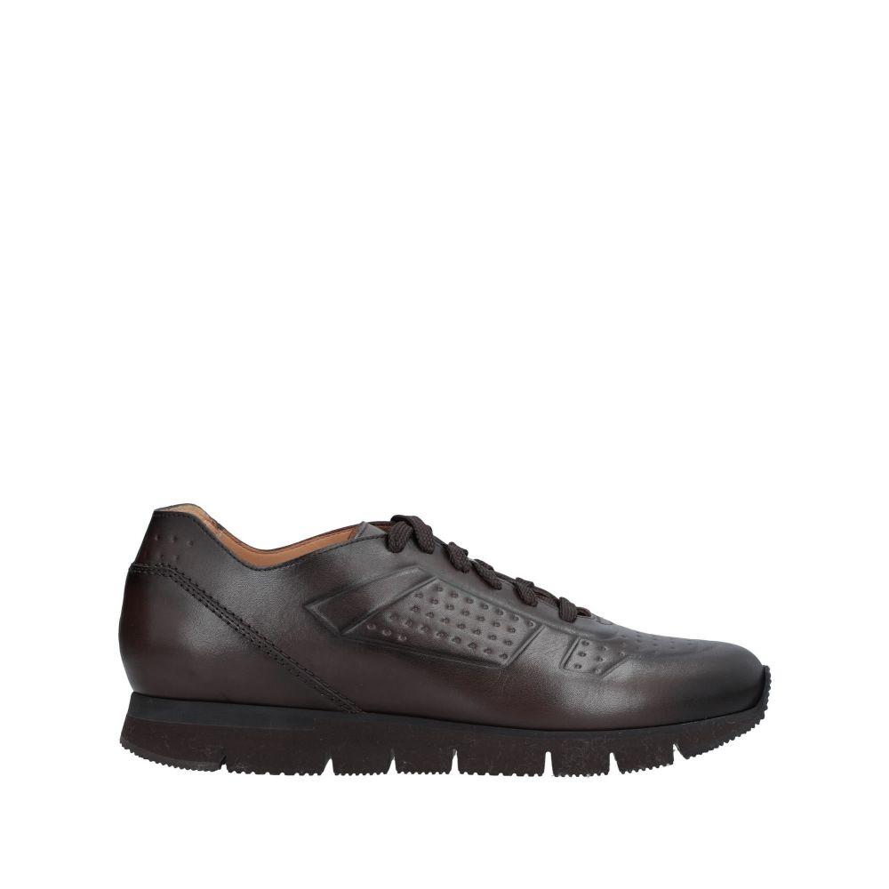 サントーニ SANTONI メンズ スニーカー シューズ・靴【sneakers】Dark brown