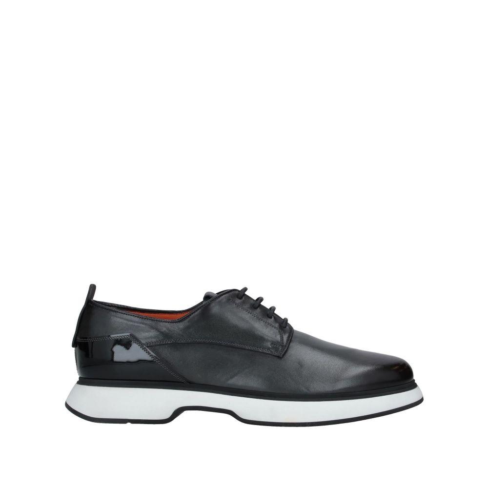 サントーニ SANTONI メンズ シューズ・靴 【laced shoes】Steel grey