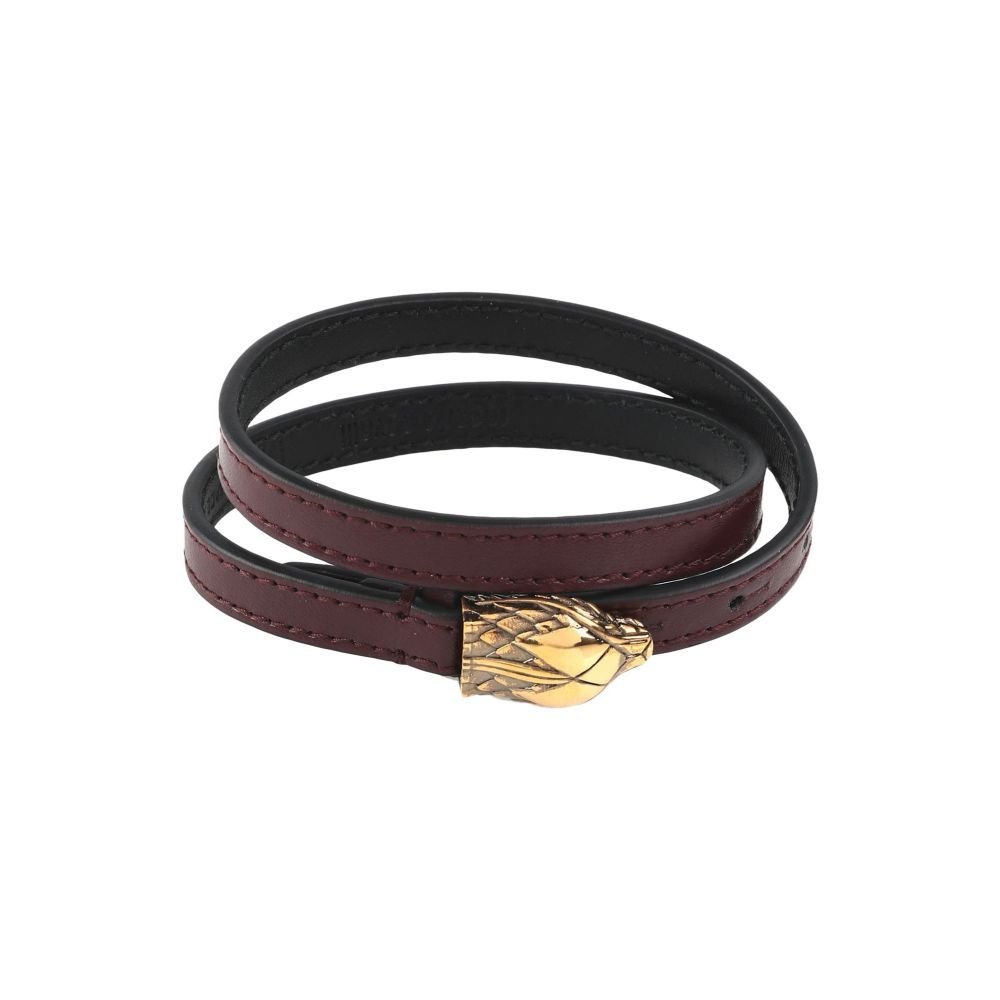 ロベルト カヴァリ ROBERTO CAVALLI メンズ ブレスレット ジュエリー・アクセサリー【bracelet】Black