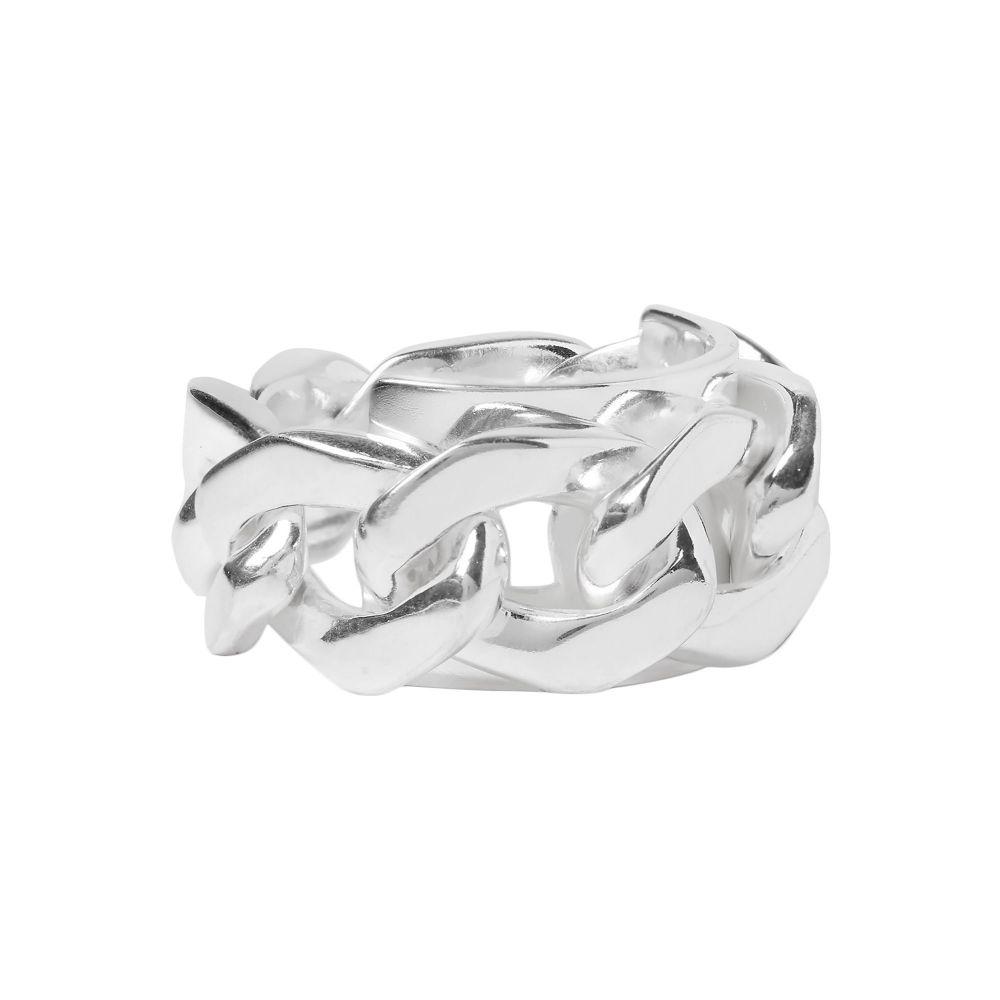 メゾン マルジェラ メンズ ジュエリー・アクセサリー 指輪・リング Silver 【サイズ交換無料】 メゾン マルジェラ MAISON MARGIELA メンズ 指輪・リング ジュエリー・アクセサリー【ring】Silver