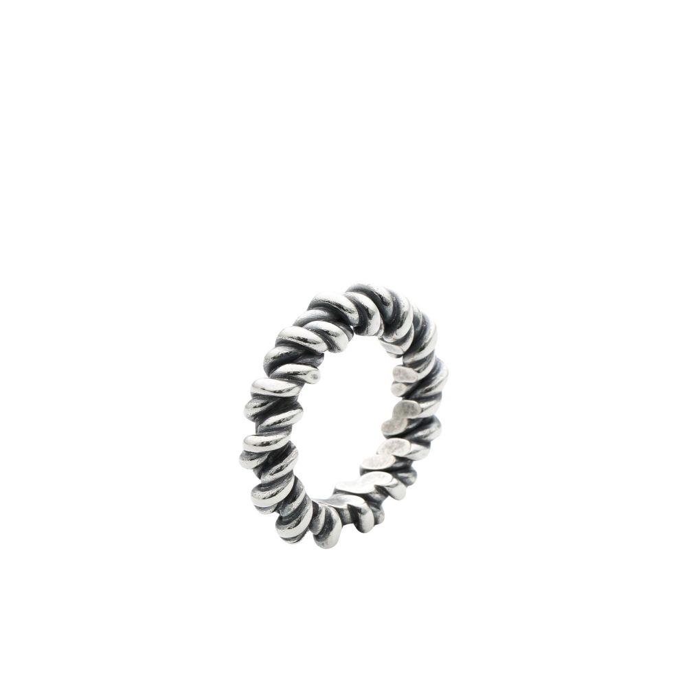 ウーゴ カッチャトーリ UGO CACCIATORI メンズ 指輪・リング ジュエリー・アクセサリー【torcetto ring ring】Silver