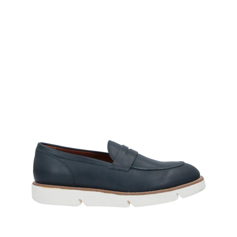 アルベルト ガルディアーニ メンズ シューズ・靴 ローファー Dark blue 【サイズ交換無料】 アルベルト ガルディアーニ ALBERTO GUARDIANI メンズ ローファー シューズ・靴【loafers】Dark blue