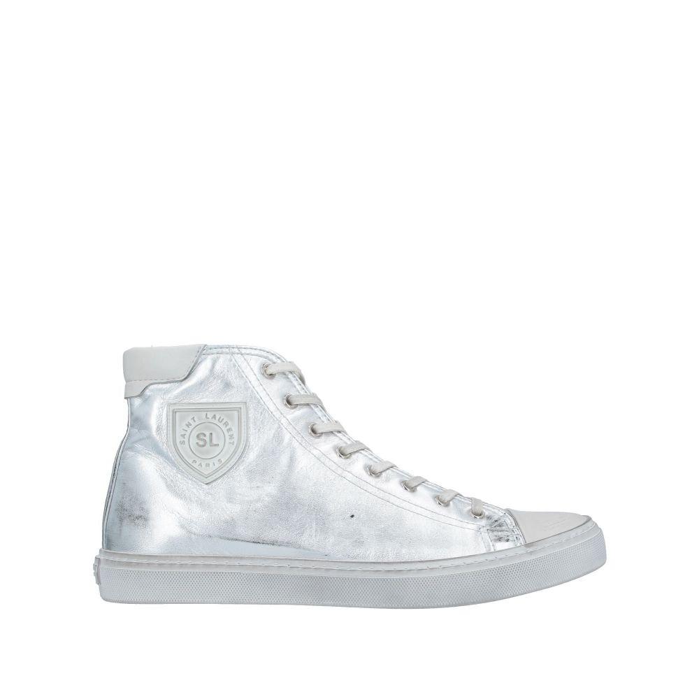 イヴ サンローラン SAINT LAURENT メンズ スニーカー シューズ・靴【sneakers】Silver