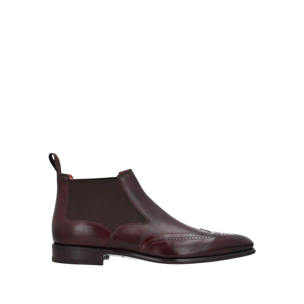 サントーニ SANTONI メンズ ブーツ シューズ・靴【boots】Deep purple